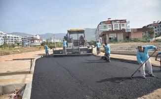 Alanya Belediyesi Asfaltsız Yol Bırakmıyor