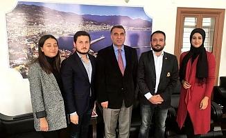 Türk Ocağı gençliği Harputlu'yu ziyaret etti