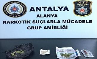 Uyuşturucu operasyonda 2 gözaltı