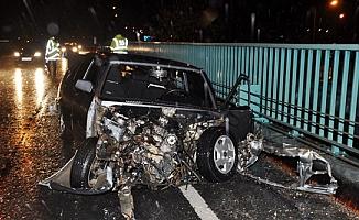 Alanya yolunda kaza: 1 ağır yaralı var