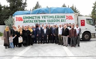 Antalya'dan Suriye'ye anlamlı yardım