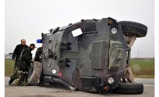 Iğdır'da Askeri Araç Devrildi: 1 Şehit, 5 Yaralımız Var