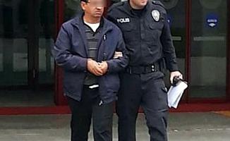 Kadına tacizde bulunan bir kişi yakalandı