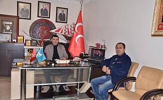 Sezen'den Türkdoğan'a ziyaret