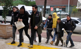 Alanya'da yakalanan 8uyuşturucu taciri adliyede!