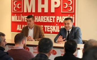 MHP'den yerel seçim istişaresi