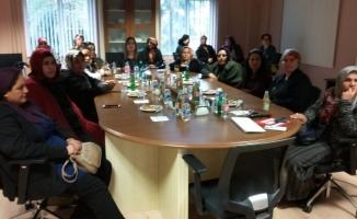 Üretici kadınlar Antalya'da