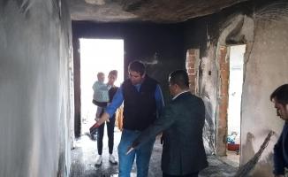 Alanya'da çıkan yangında ev kül oldu!