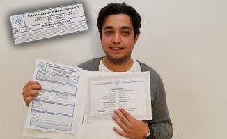 Diploma uluslararası alanda da geçerli