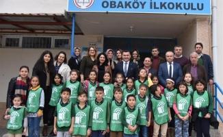Eko okullara  proje ziyareti
