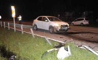 Alanya'da yürekleri ağza getiren kaza! 1 yaralı