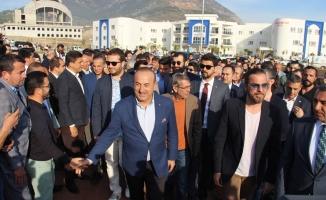 Çavuşoğlu'Diriliş'i  Alanya'ya getirdi