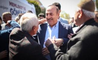 Çavuşoğlu'ndan, Gazipaşa'ya 5 yıldızlı otel müjdesi
