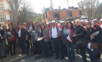 CHP'li kadınlar sahada