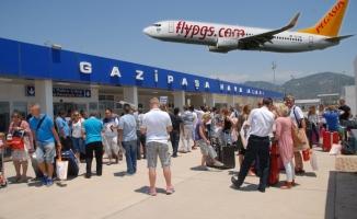 Gazipaşa- Moskova uçuşu haftada 4 kez olacak