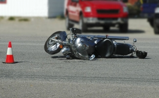 Alanya'da motosiklet ile otomobil çarpıştı: 1 yaralı