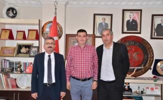 Türkdoğan'a Türk Haber- Sen'den ziyaret