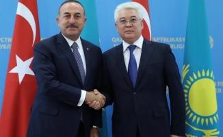 Çavuşoğlu: Kazakistan'la ilişkileri geliştirmek için çalışacağız