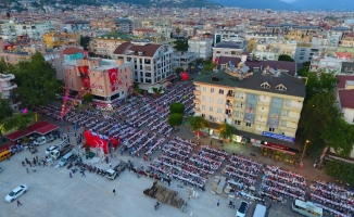 MHP'nin iftarına  binler katıldı
