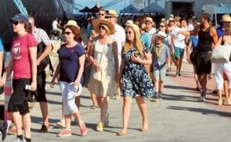 Turizmde yükseliş sürüyor