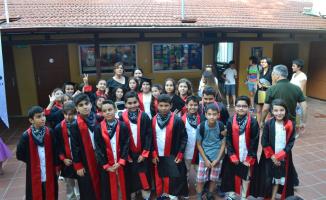 ÖHEP'te coşkulu mezuniyet