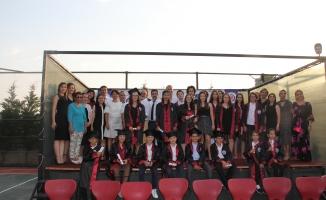 Özel Alanya Bil Koleji'nde mezuniyet coşkusu