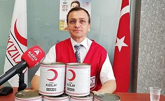 Alanya Kızılay'dan bağış çağrısı