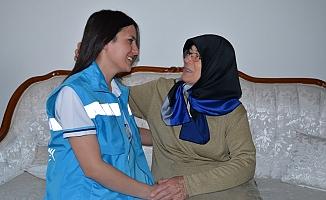 Alanya'da 3 bin 327 hastaya evde sağlık hizmeti verildi