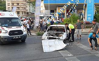 Alanya'da kaza! 4 yaralı