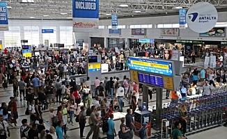 Antalya'ya 10 milyon turist geldi!