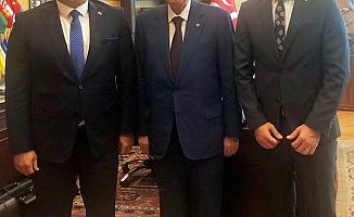 Başkan Yücel'den MHP Lideri Bahçeli'ye ziyaret