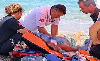 Serinlemek için girdiği denizde boğuldu!