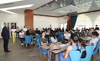 ALKÜ Mimarlık Fakültesi'nde ilk ders heyecanı