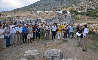 Antik kentte 50'nci yıl kazı sezonu tamamlandı