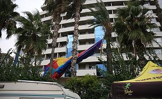Deniz paraşütü kazası: 2 yaralı