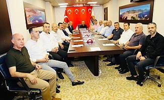 Alanya'dan Barış Pınarı Harekatı'na tam destek