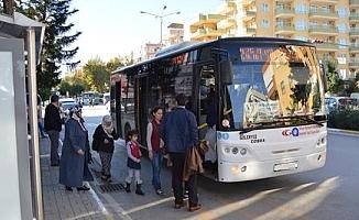 Taraftarlar için özel halk otobüsü seferi düzenlenecek