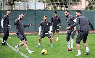 Alanyaspor, Göztepe maçı hazırlarına başladı