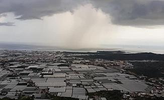 Antalya'da endişelendiren görüntü
