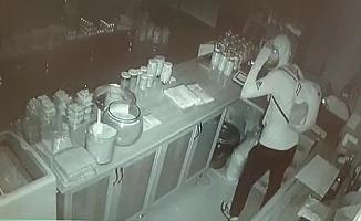 Kapüşonlu hırsız, onlarca yöresel ürün arasından sadece balı çaldı