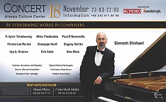 Müzisyenler Alanya'da buluşacak