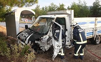 Trafik kazası: 1 ölü, 2 yaralı