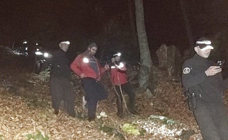 Uludağ'da kaybolan dağcı 7 saatlik çalışma ile bulundu