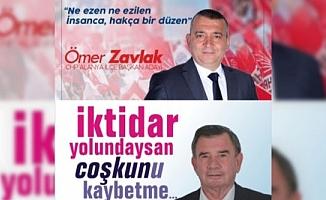 Alanya CHP'de başkanlık yarışı sloganlara böyle yansıdı