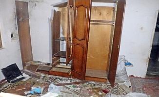 Eve yıldırım düştü: 1 yaralı