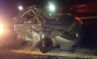 Feci kaza: 2 ölü, 1 yaralı