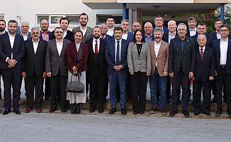 Ak Parti'de başkanlar toplandı