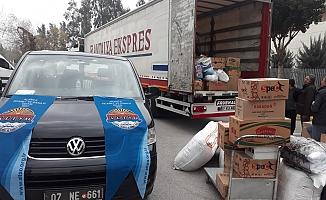 ALTSO'nun deprem yardımları yola çıktı