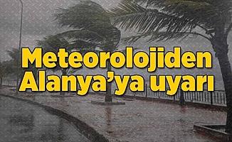 Meteoroloji uyardı! Alanya'ya yağmur geliyor