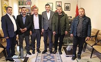 Muhtarlardan Türkdoğan'a ziyaret